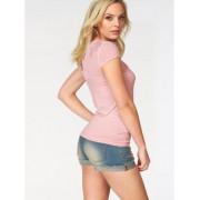 Блузка цвет розовый