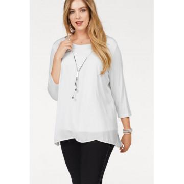 блуза с цепочкой